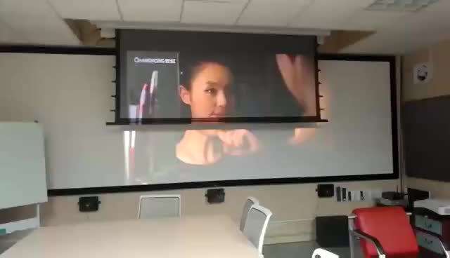 black crystal projector screen ! thumbnail image
