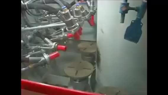 index rotary table sand blast machine thumbnail image