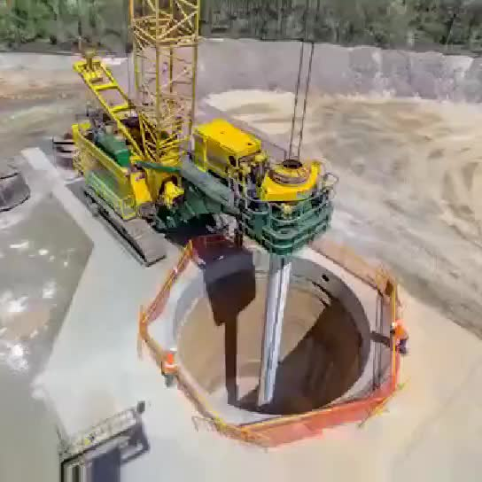 Rotary drilling video