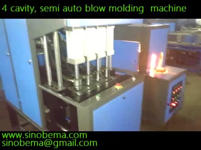 4 cavity semi-auto blow molding machine,200-2000ml thumbnail image