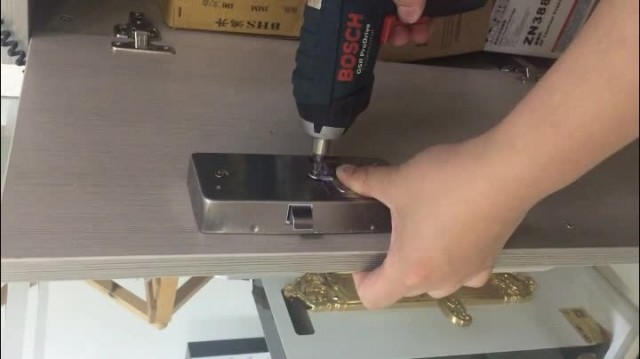fingerprint cabinet lock thumbnail image