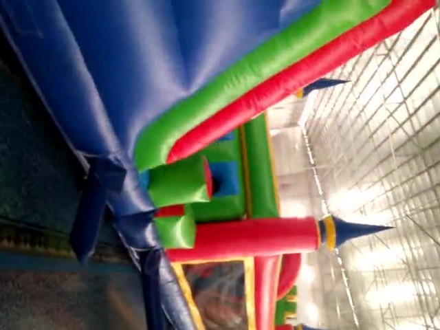 50fts Commercial Inflatable Castle Obstacle Course thumbnail image