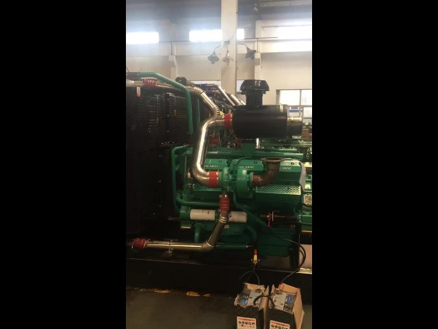 800KW & 1000KW Diesel Generator Set Under Test