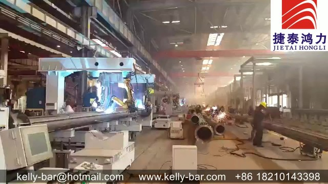 Kelly bar factory workshop welding process thumbnail image
