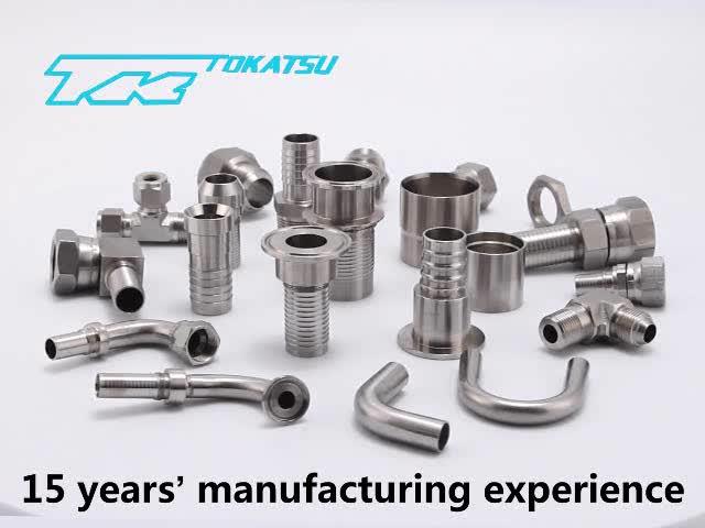 Ningbo TOKATSU stainless steel fitting factory