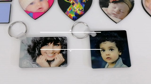 8Point Houseware Sublimation MDF Keychains
