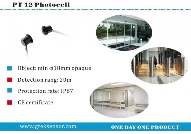 PT12T photocell for automatic door thumbnail image
