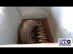 double shaft shredder D2860 tire thumbnail image