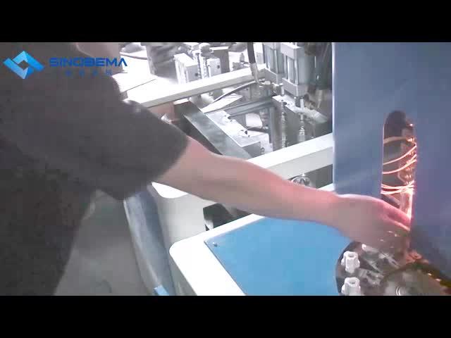2 cavity semi-auto blow molding machine,200-2000ml thumbnail image