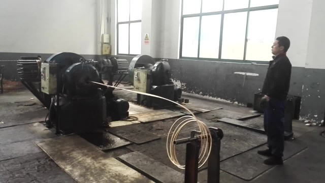 Beryllium copper wire workshop