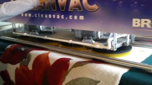 AUTOMATIC CARPET WASHING MACHINE RAIL TYPE thumbnail image