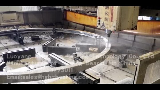 Video of Slewing Bearing Drilling