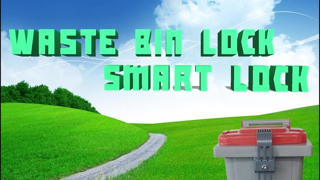 Wheelie Bin Lock - Smart Lock thumbnail image