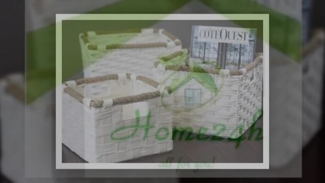 Water Hyacinth Basket Album (Fr Home24h.biz)
