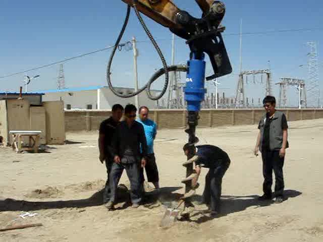 BEIYI excavator earth drill thumbnail image