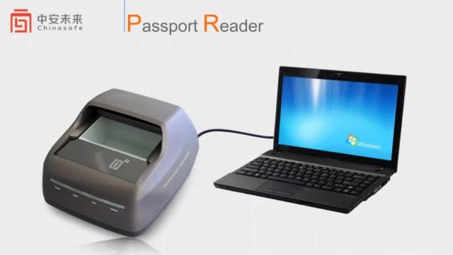 ocr mrz passport reader scanner RFID UV epassport thumbnail image