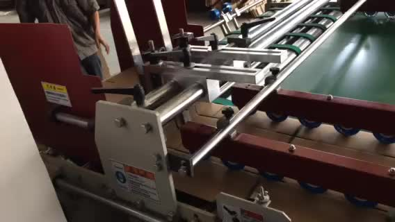 JWY semi automatic folder gluer