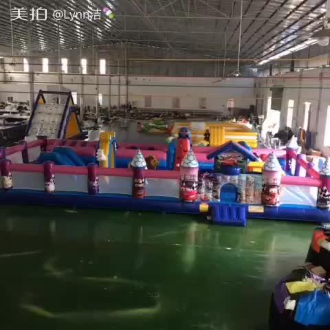Guangzhou KK Inflatable Trampoline Fun City thumbnail image