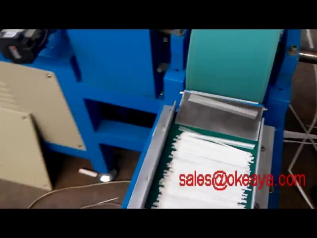 Paper rod making machine