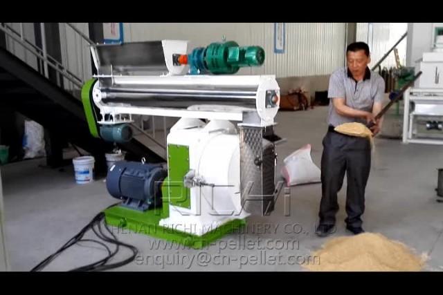 SZLH35 FEED PELLET MILL TEST VIDEO thumbnail image