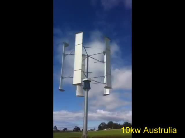 SAWT 10kW VAWT installed in Austrilia thumbnail image
