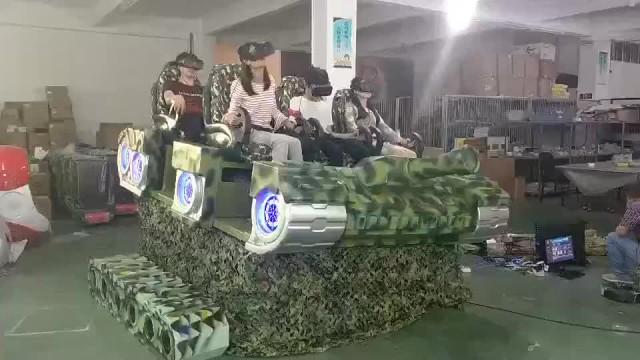 Tank mobile 6 seats vr cinema, 9d vr family thumbnail image