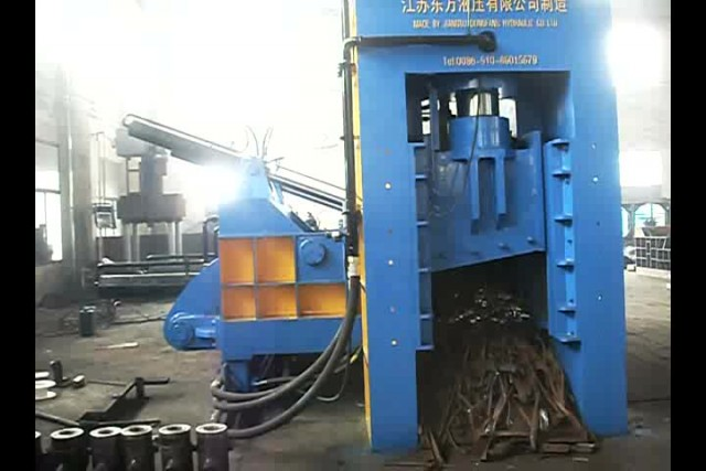 Baler shear for cutting steel sheet thumbnail image