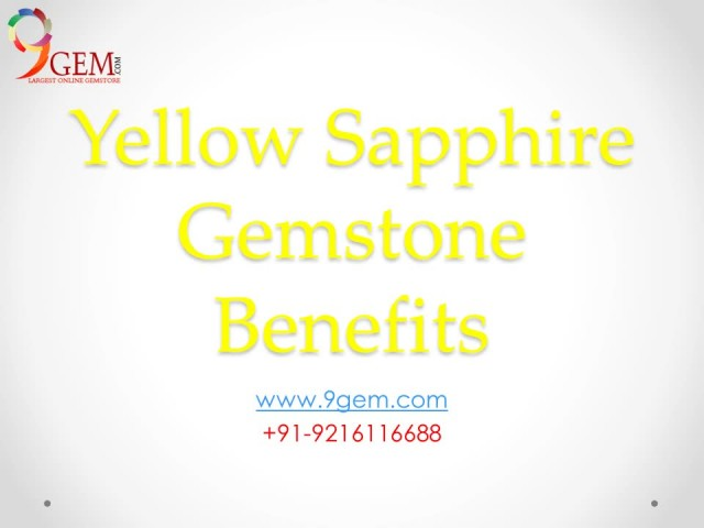 Get benefits by wearing Yellow Sapphire thumbnail image