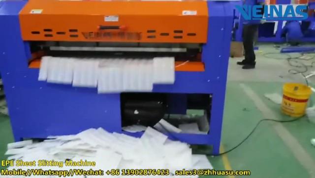 Veinas EPE Sheet Cutting Machine thumbnail image