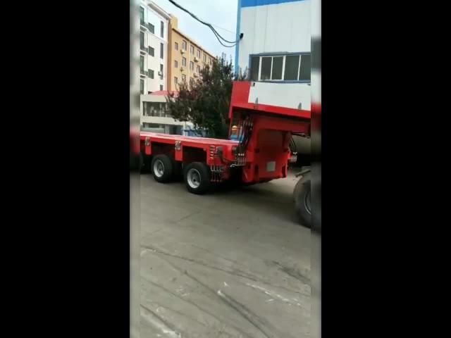 10 Axle Lines Modular Vehicle with Gooseneck thumbnail image