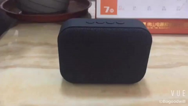 Fabric Bluetooth speaker with USB port thumbnail image