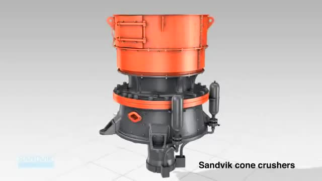 Sandvik Single Cylinder cone crusher