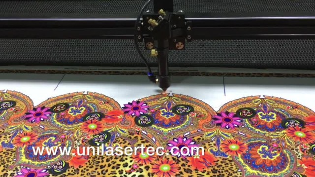 Digital printed fabric laser cutting thumbnail image