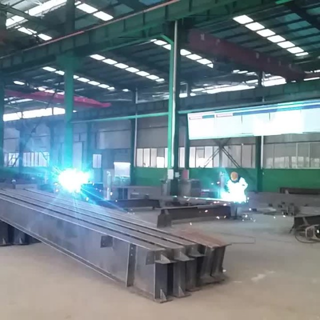 steel beam processing
