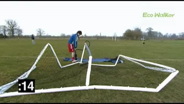 Eco Walker inflatable goal