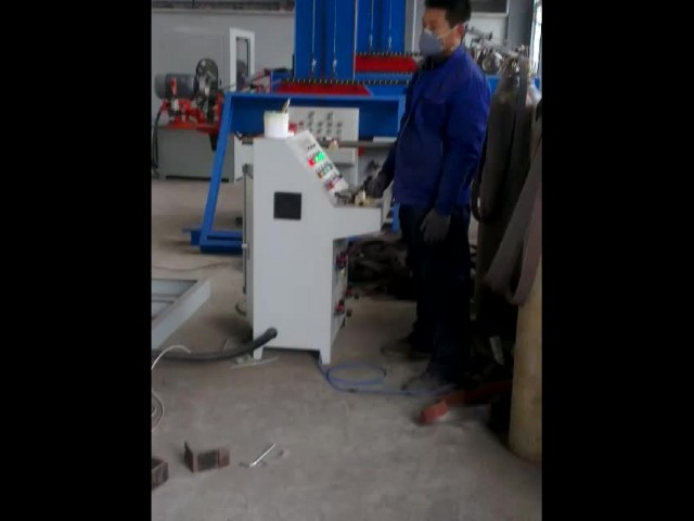 Dish end polishing machine process