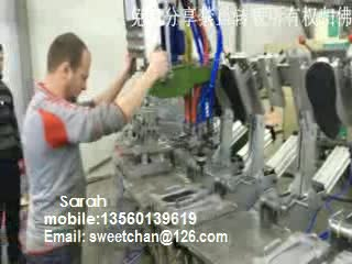 pu shoe machine