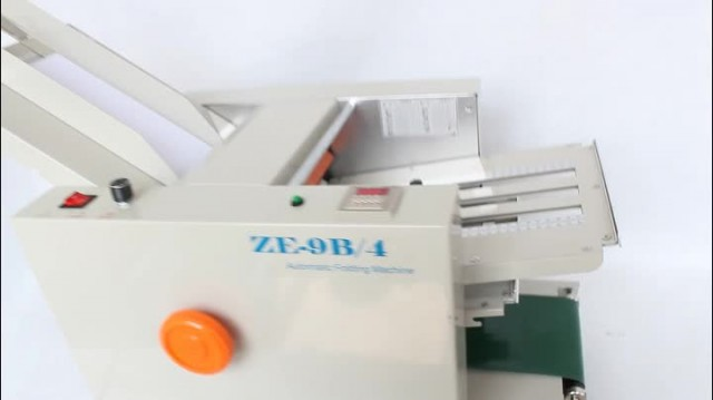 Automatic folding machine thumbnail image