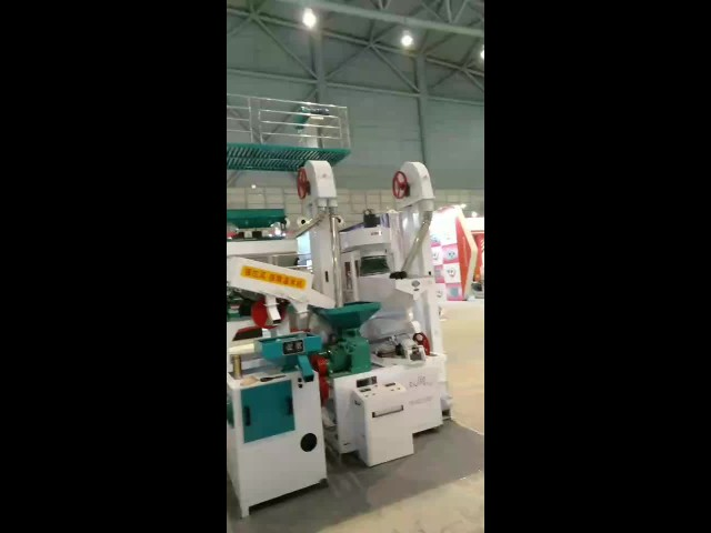 1000kg Complete Rice / grain Milling Equipment