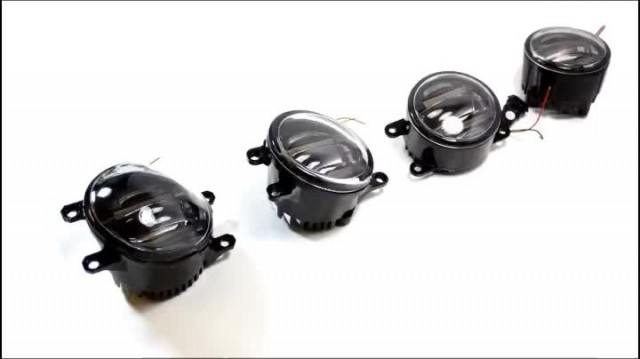 Introduce DRL & LED fog lamps