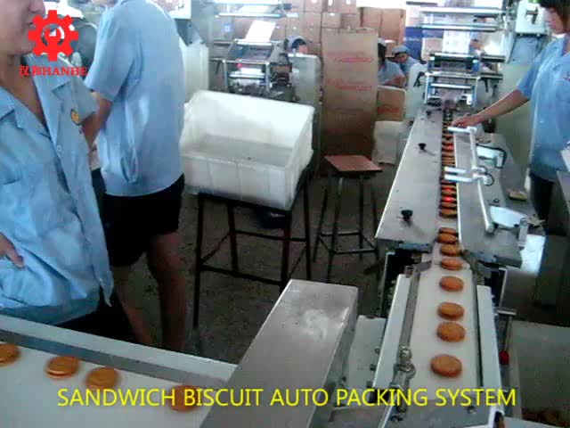 Sandwich biscuit auto packing system thumbnail image