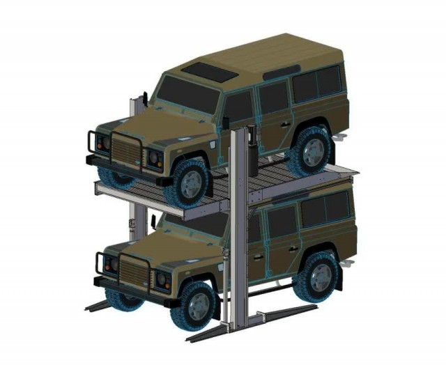 Two Post Car Parking Lift -1 thumbnail image