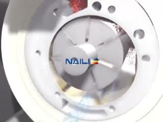 NAILI Rotary vane air compressor from CHINA