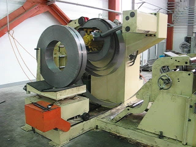 uncoiler,straightening and feeder machine thumbnail image