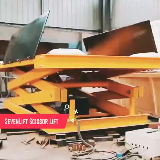Stationary Hydraulic Scissor Lift thumbnail image