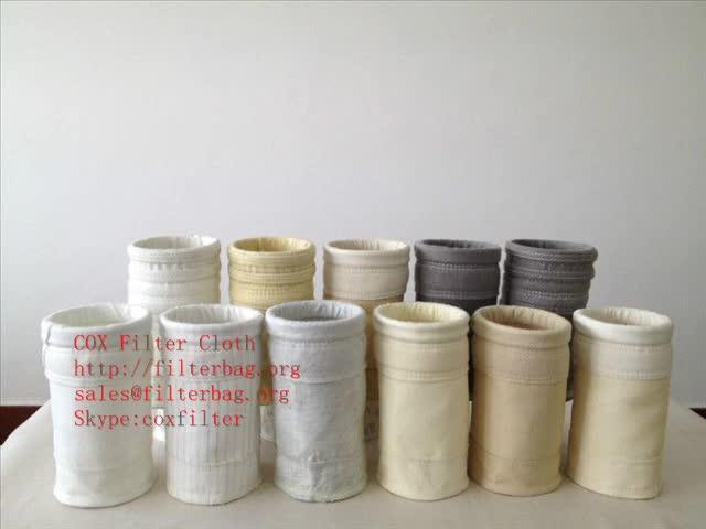 Polyester filter bag, pes filter fabric