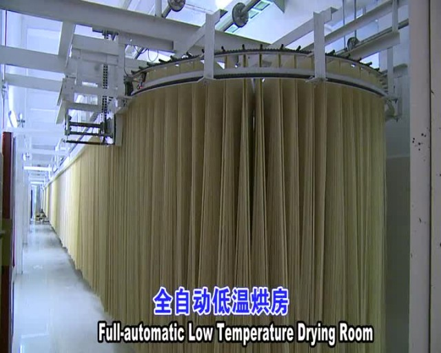 Dried stick noodle production line