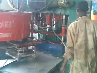 terrazzo tile press machine in African thumbnail image