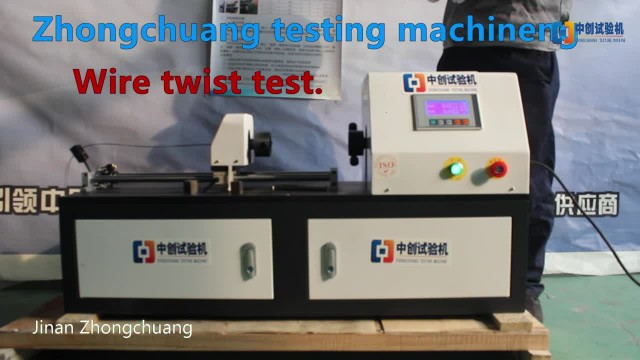 WireTorsion Test By Zhongchuang Testing Machine